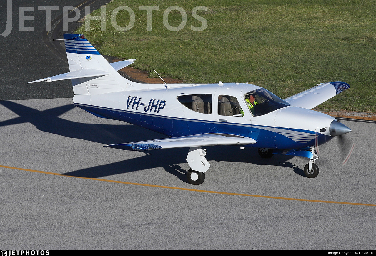 VH-JHP - Rockwell Commander 114TC - Private