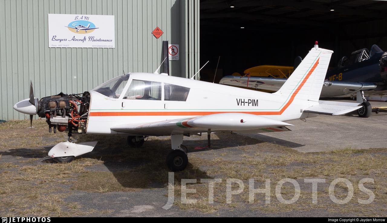 VH-PIM - Piper PA-28-180 Cherokee Arrow - Private
