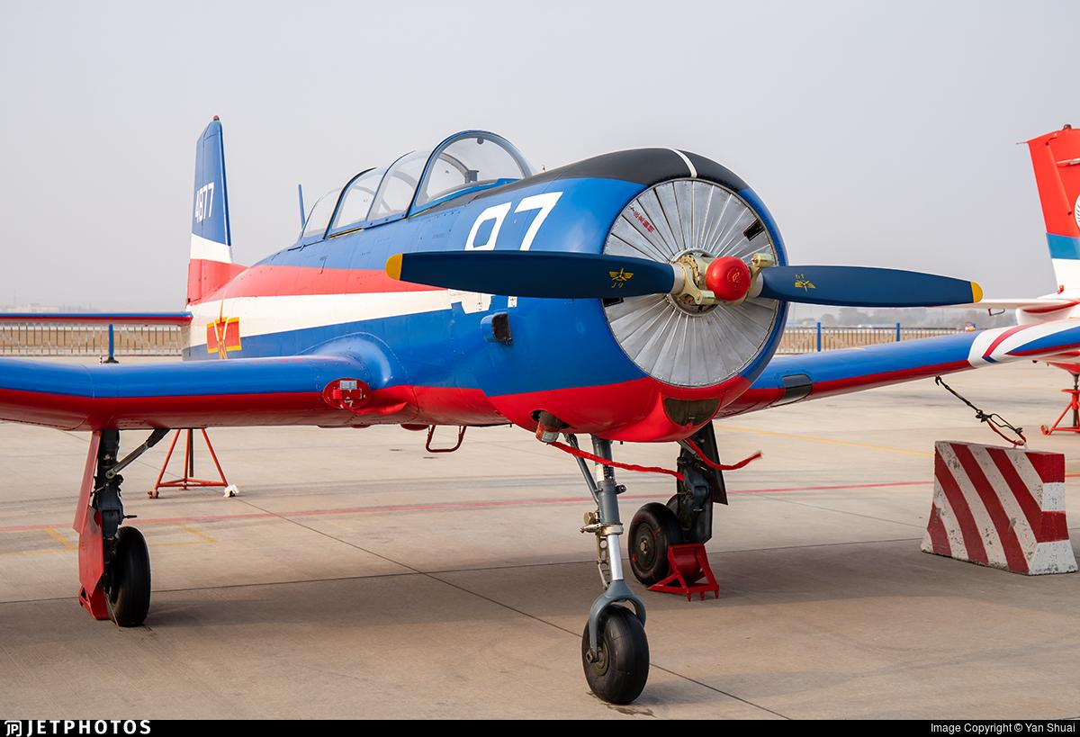 4877 - Nanchang CJ-6A - China - Air Force