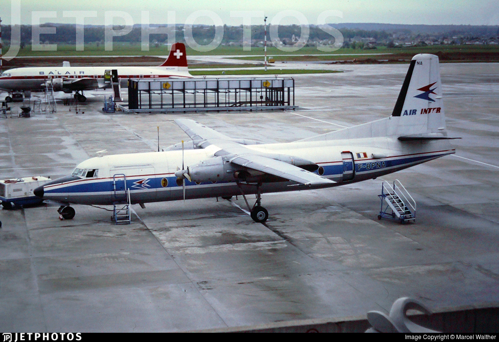 F-BPNA - Fokker F27-500 Friendship - Air Inter