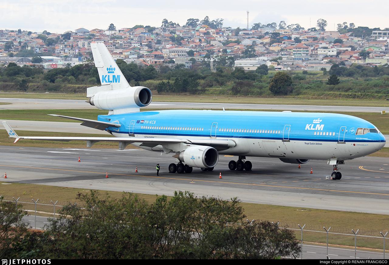 PH-KCB - McDonnell Douglas MD-11 - KLM Royal Dutch Airlines