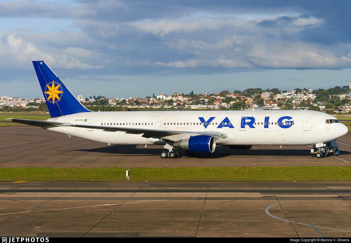 PP-VTE - Boeing 767-3Y0(ER) - Varig
