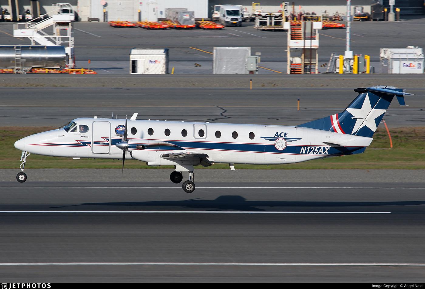 N125AX - Beechcraft 1900C - Alaska Central Express