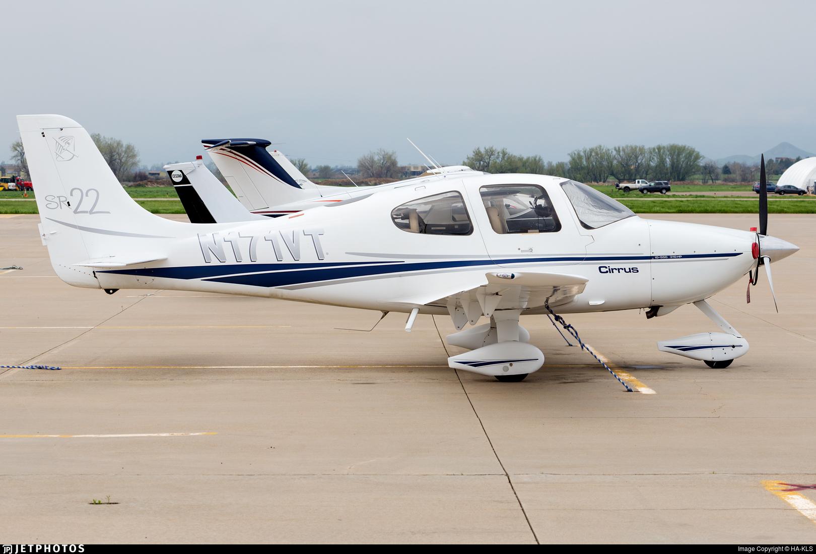N171VT - Cirrus SR22 - Private