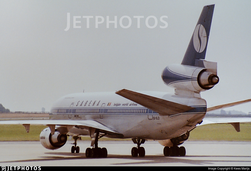 OO-SLD - McDonnell Douglas DC-10-30(CF) - Sabena