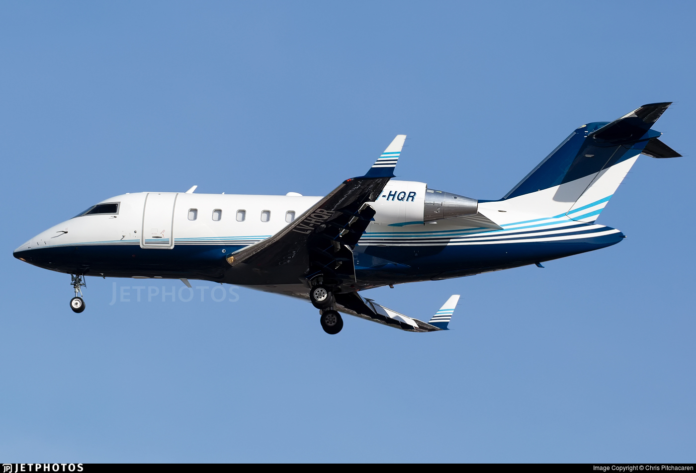 LV-HQR - Bombardier CL-600-2B16 Challenger 605 - Private