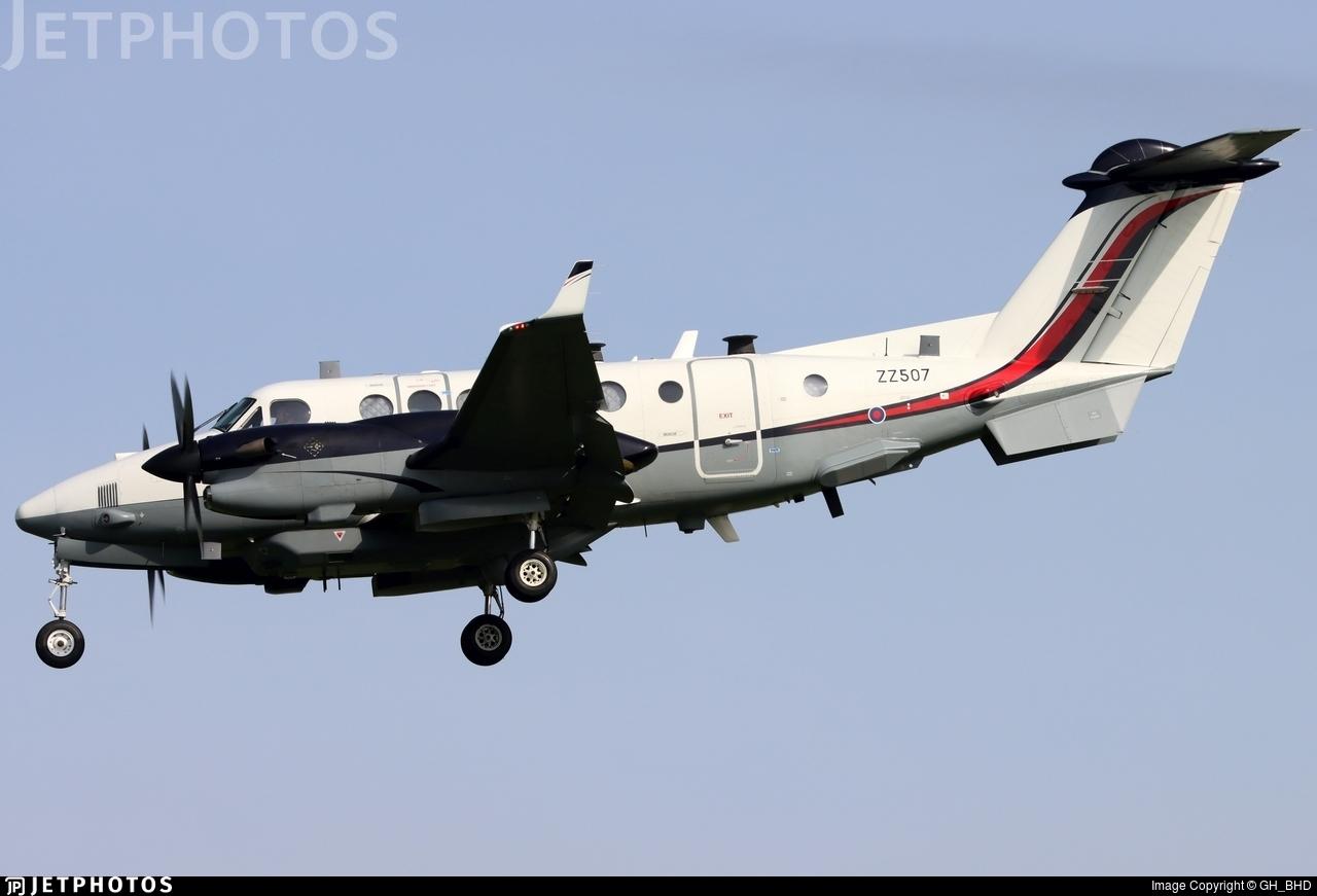 ZZ507 - Beechcraft 350ER Shadow R.1 - United Kingdom - Royal Air Force (RAF)