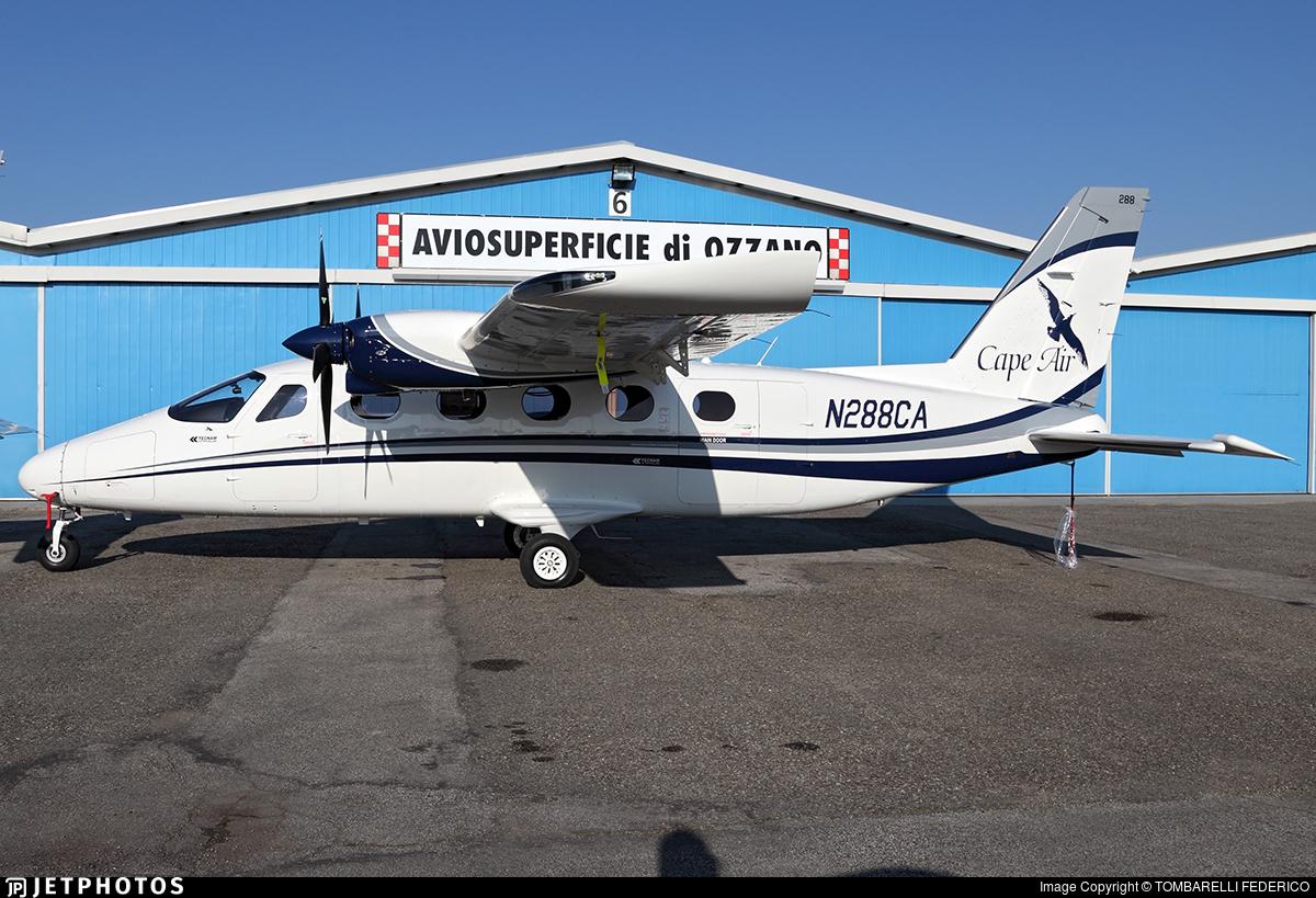 N288CA - Tecnam P2012 Traveller - Cape Air