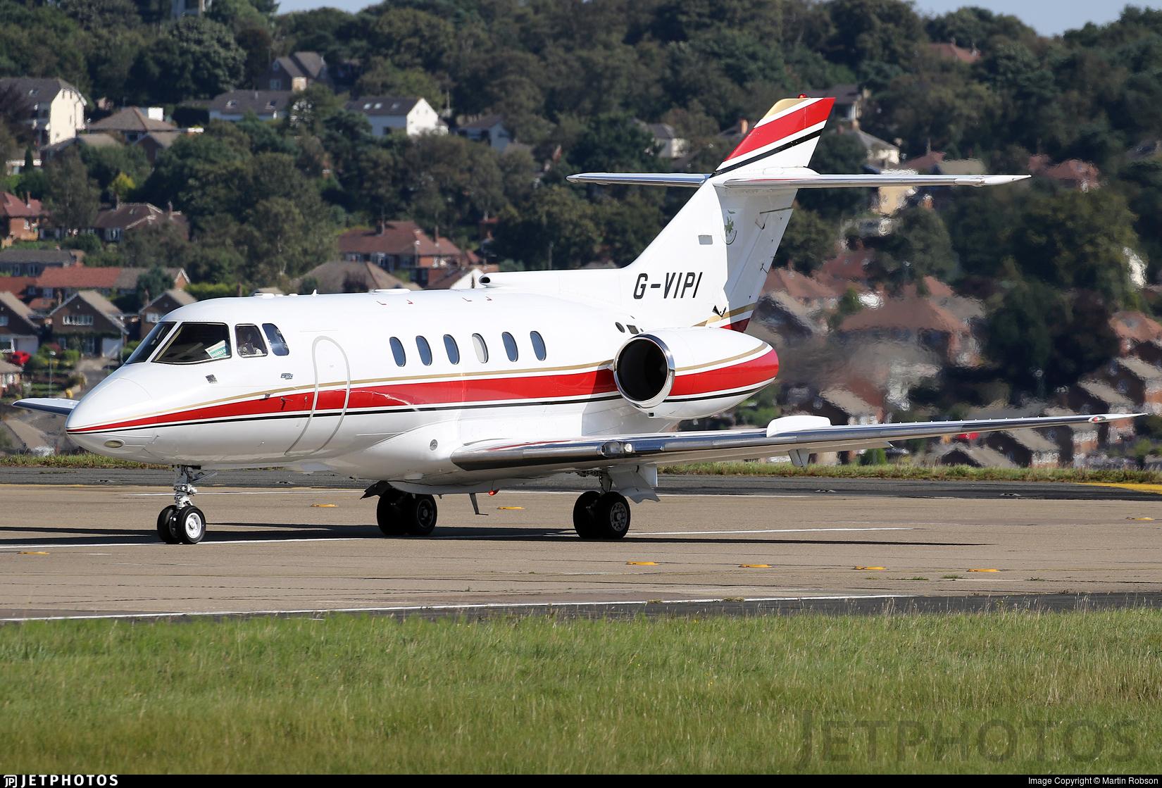 G-VIPI - British Aerospace BAe 125-800B - Private