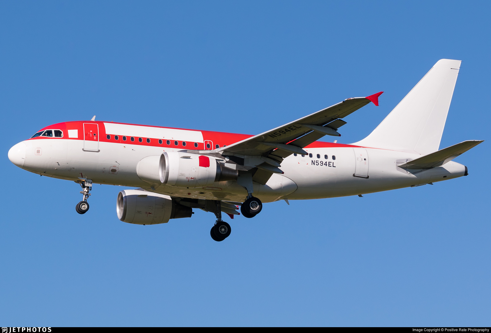 N594EL - Airbus A318-111 - Untitled
