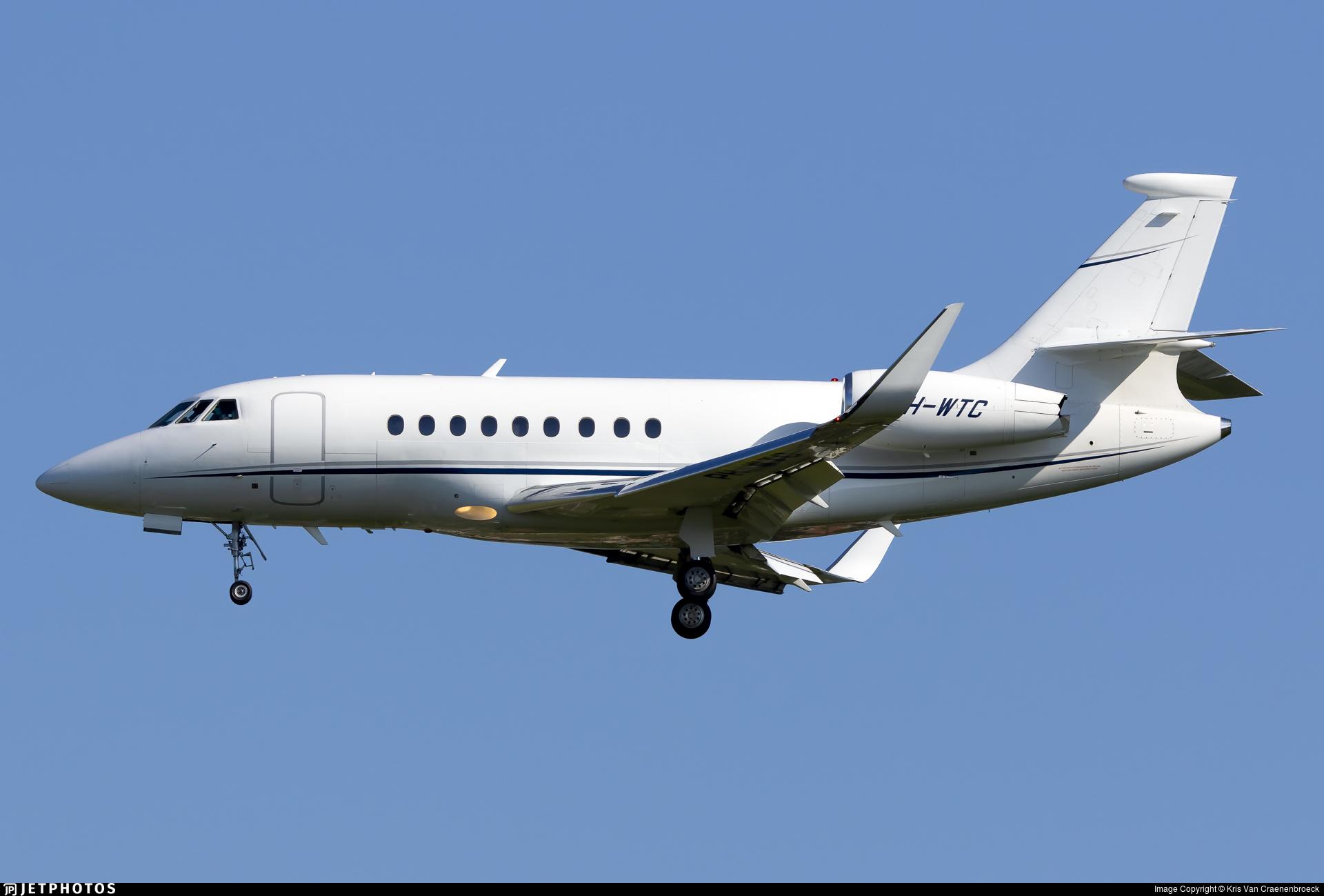 PH-WTC - Dassault Falcon 2000S - Private