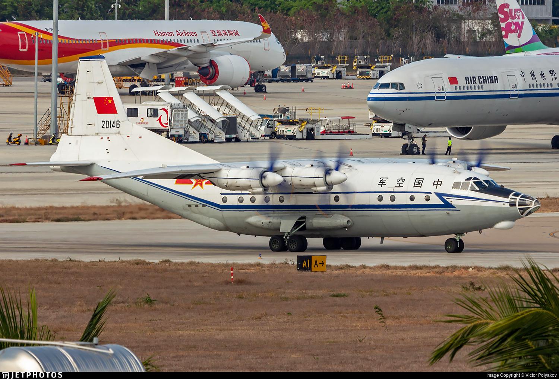 20146 - Shaanxi Y-8C - China - Air Force