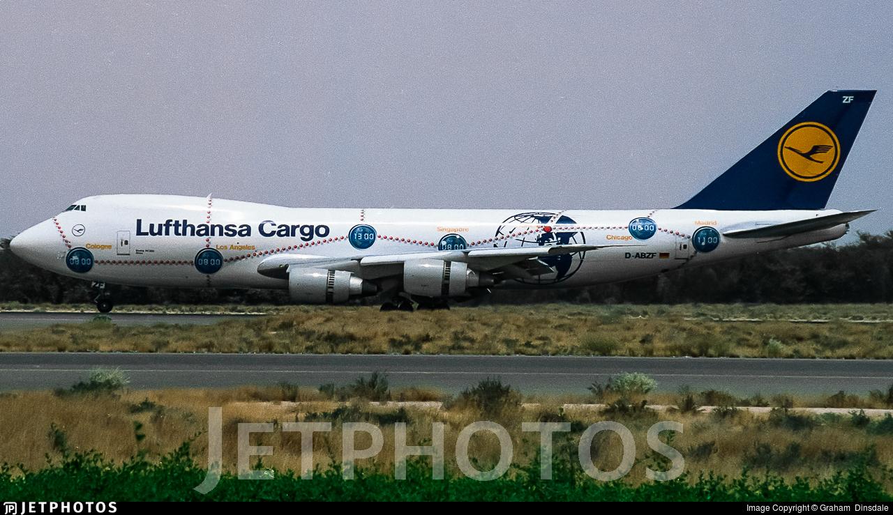 D-ABZF - Boeing 747-230F(SCD) - Lufthansa Cargo