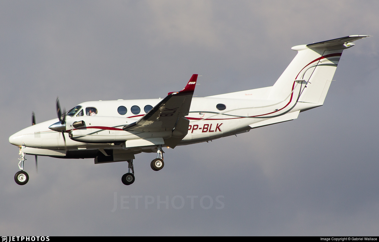 PP-BLK - Beechcraft B200GT Super King Air - Private