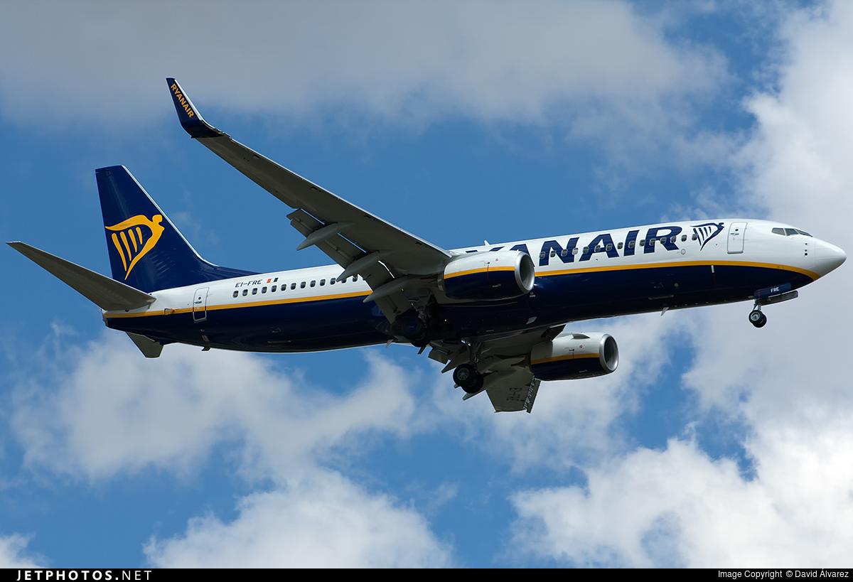 EI-FRE - Boeing 737-8AS - Ryanair