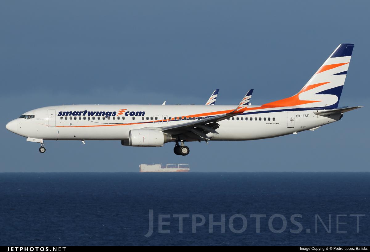 OK-TSF - Boeing 737-8Q8 - SmartWings