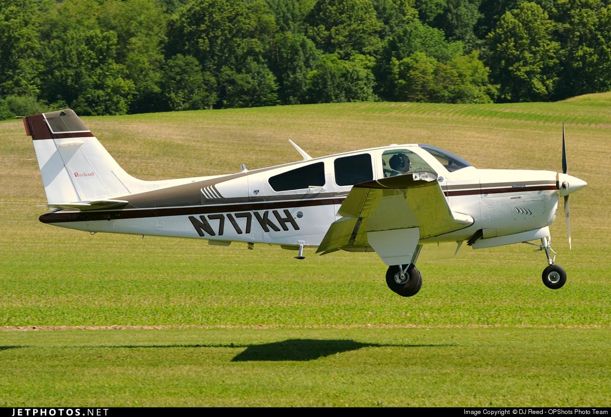 N717KH - Beechcraft F33A Bonanza - Private
