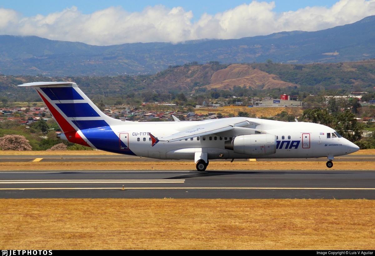CU-T1716 - Antonov AN-158 - Cubana de Aviación
