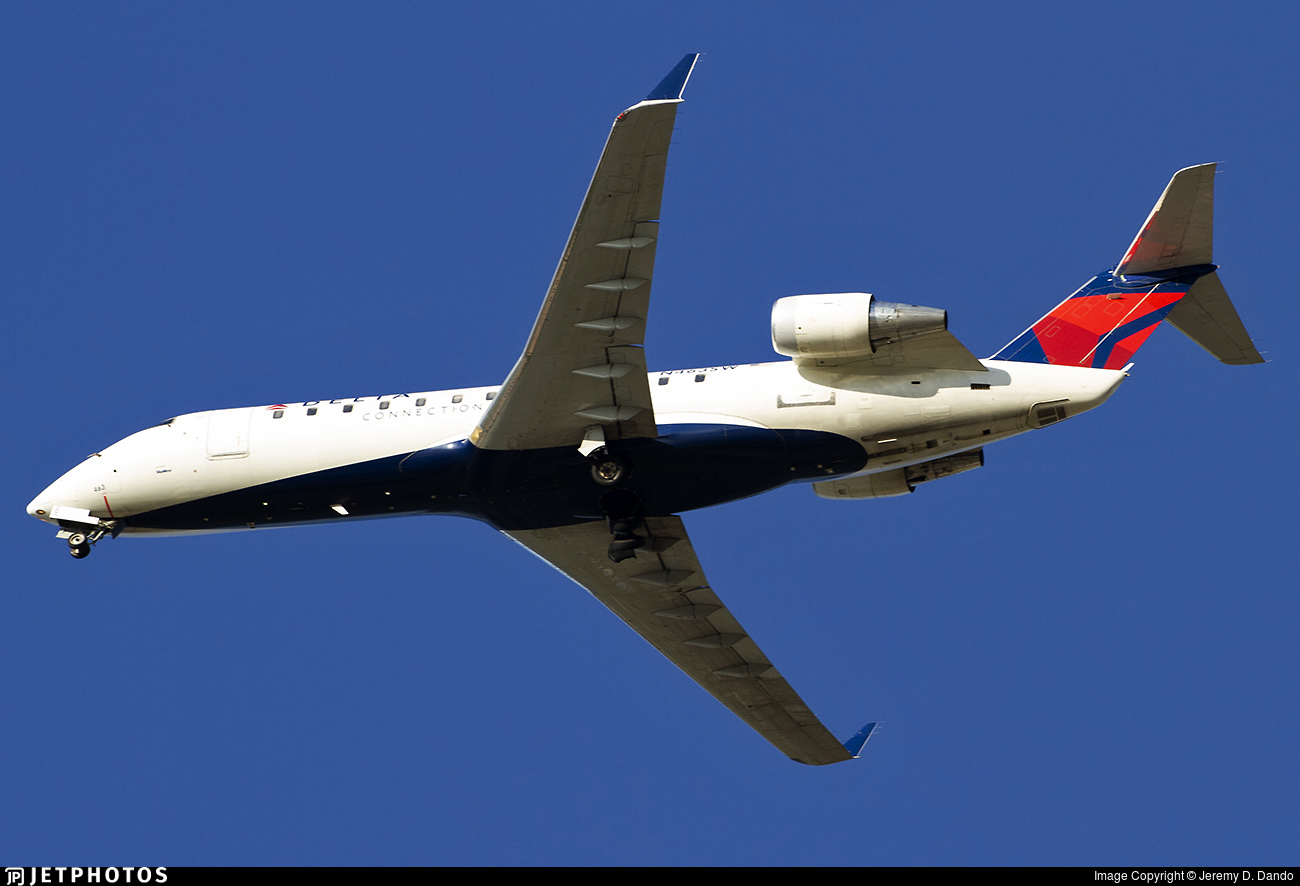 N463SW - Bombardier CRJ-200ER - Delta Connection (SkyWest Airlines)