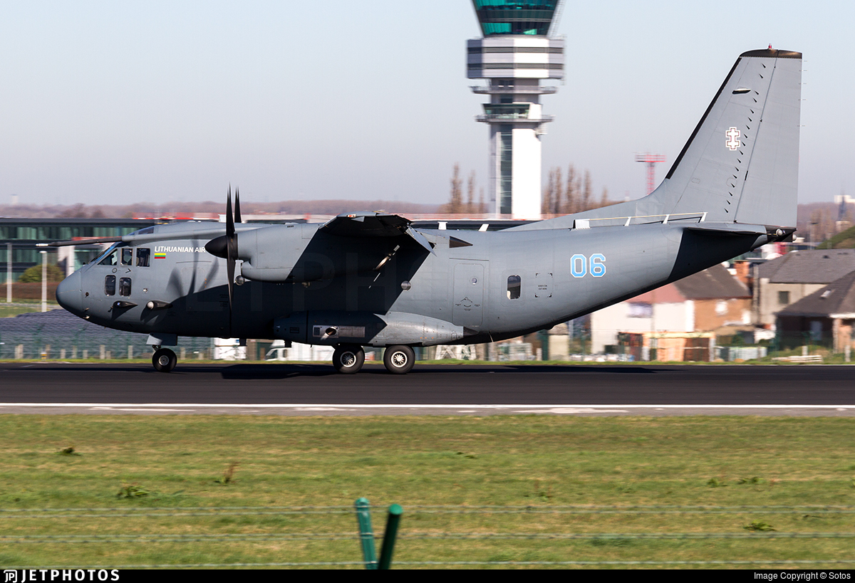 06 - Alenia C-27J Spartan - Lithuania - Air Force