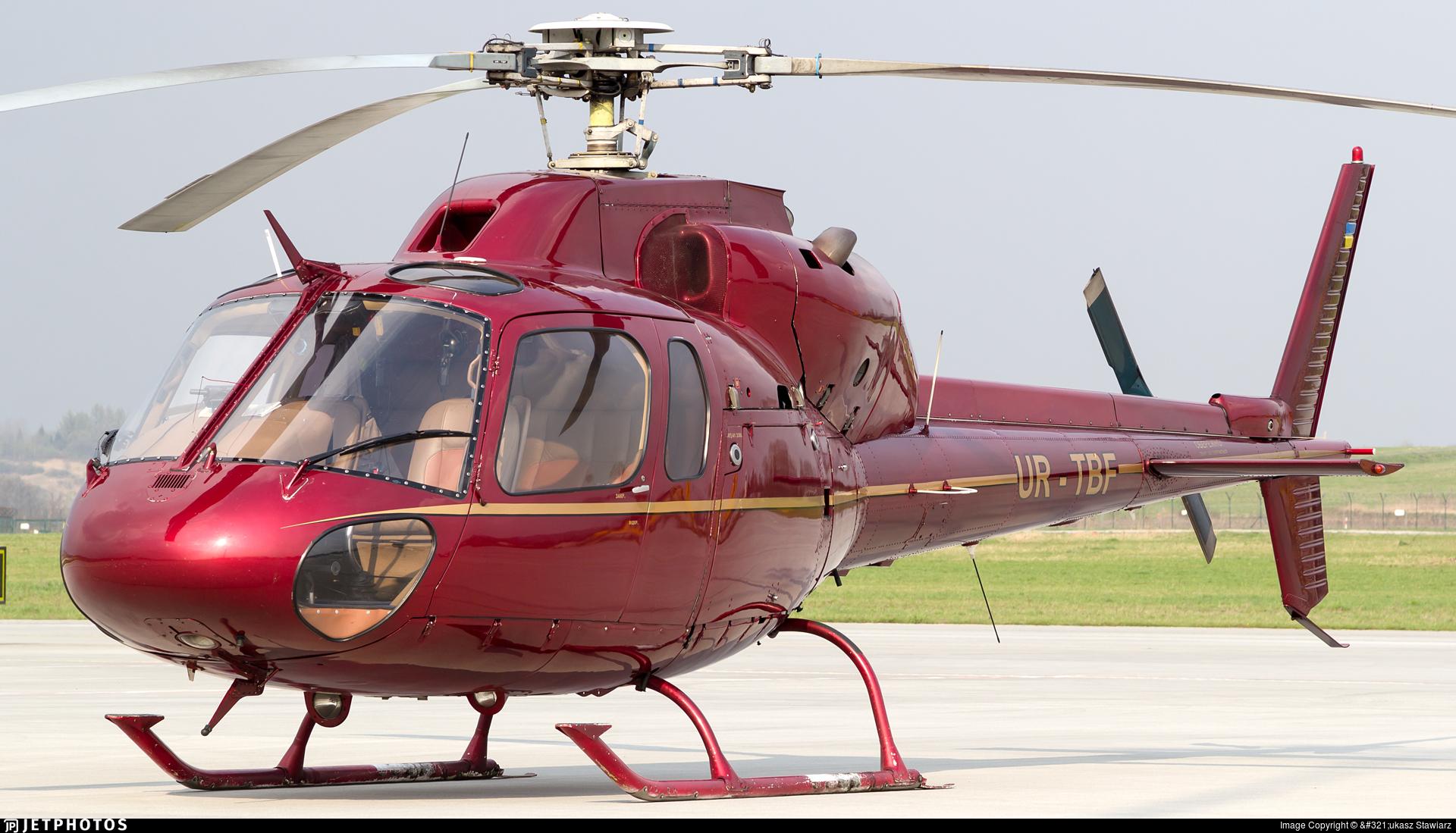 UR-TBF - Eurocopter AS 355F1 TwinStar - Private