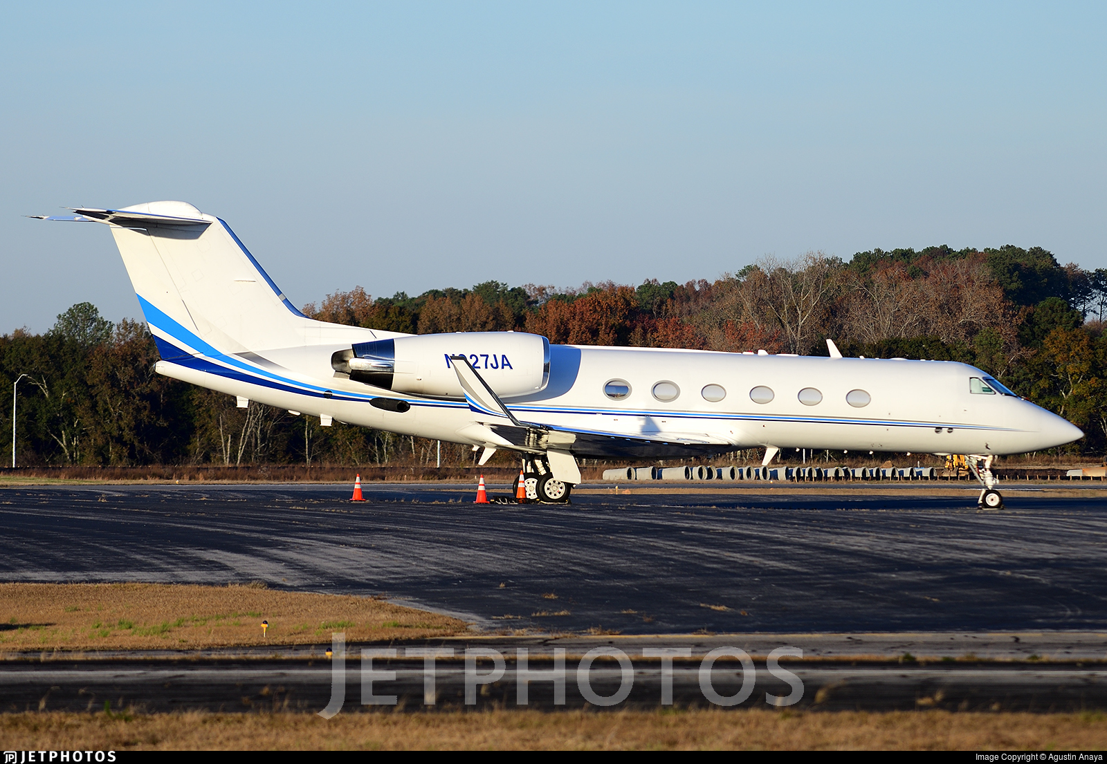 N927JA - Gulfstream G-IV(SP) - Private
