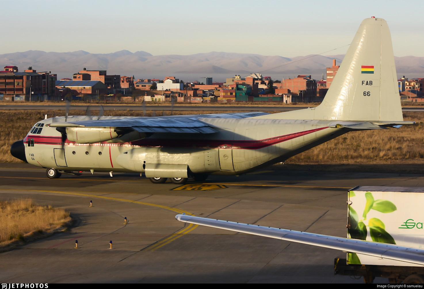 FAB-66 - Lockheed C-130B Hercules - Bolivia - Air Force