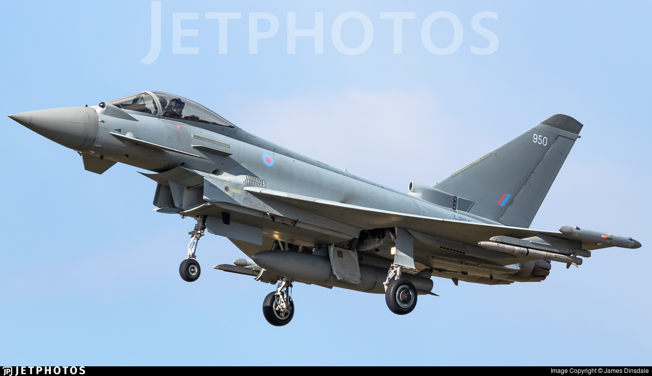 ZJ950 - Eurofighter Typhoon FGR.4 - United Kingdom - Royal Air Force (RAF)