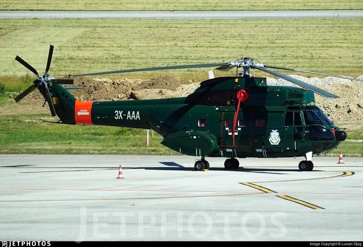 3X-AAA - IAR-330L Puma - Equatorial Guinea - Air Force