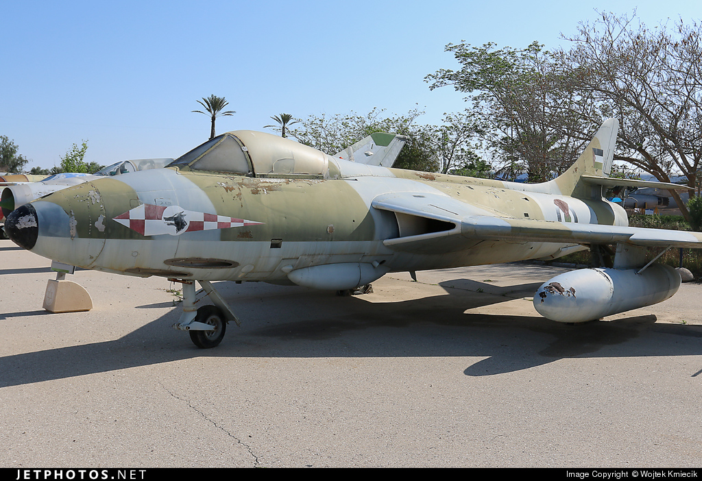 J-747 - Hawker Hunter FGA.9 - Jordan - Air Force