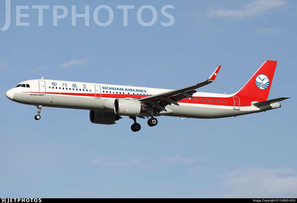 B-305S - Airbus A321-271N - Sichuan Airlines