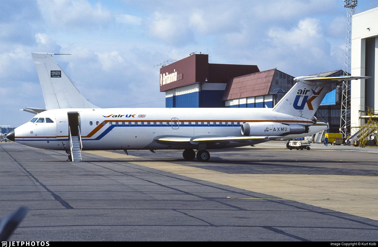 G-AXMU - British Aircraft Corporation BAC 1-11 Series 432FD - Air UK