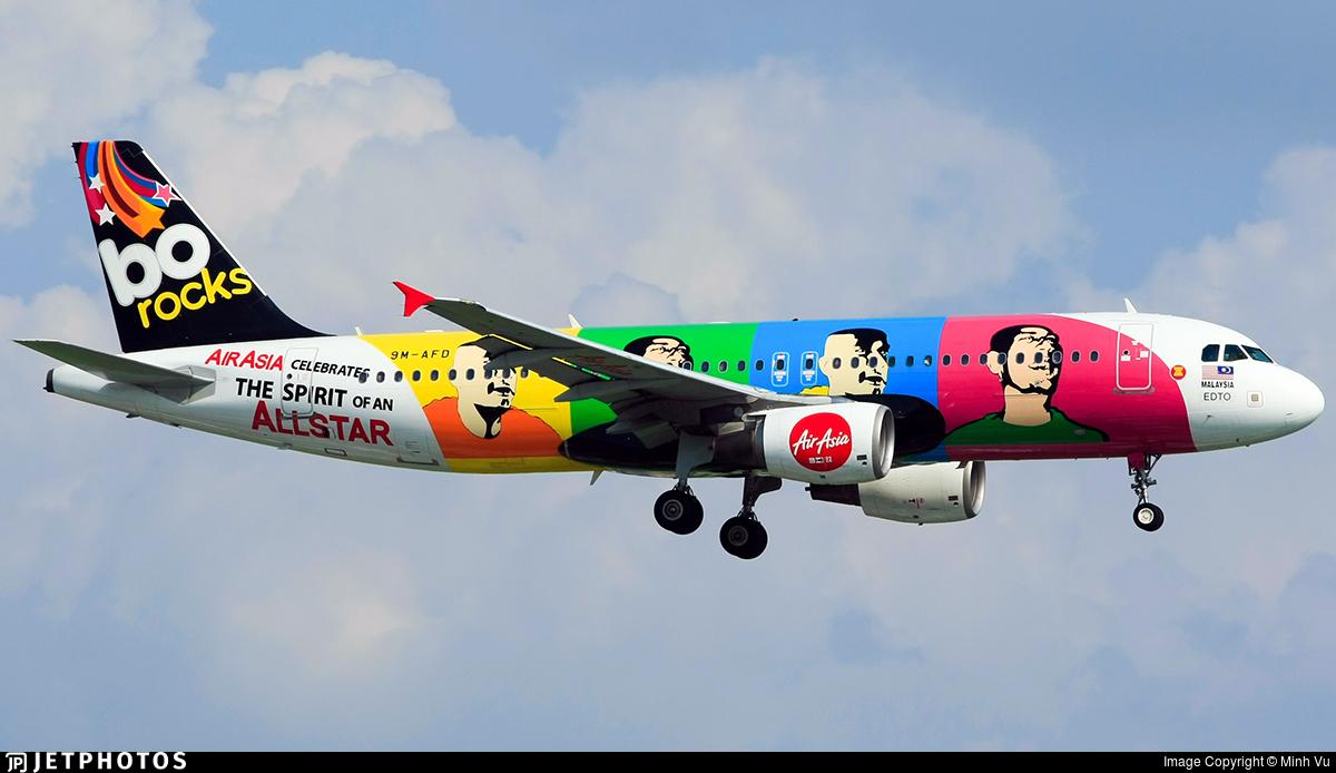 9M-AFD - Airbus A320-214 - AirAsia