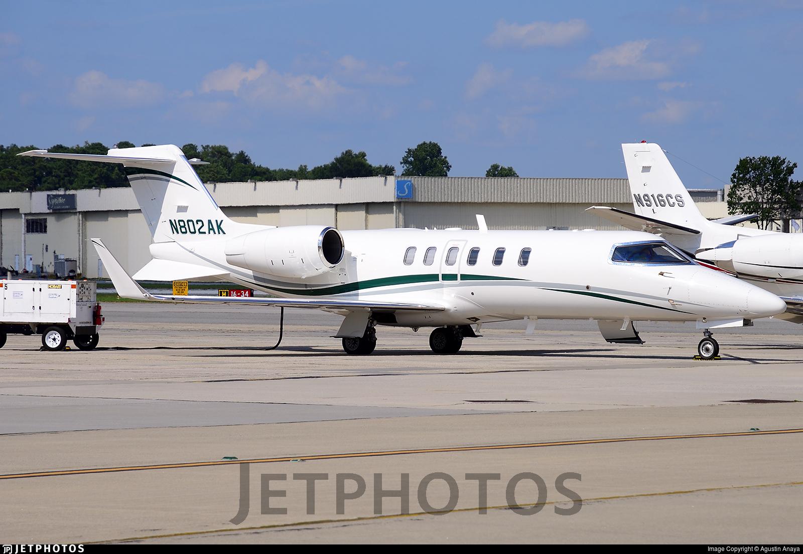 N802AK - Bombardier Learjet 45 - Private