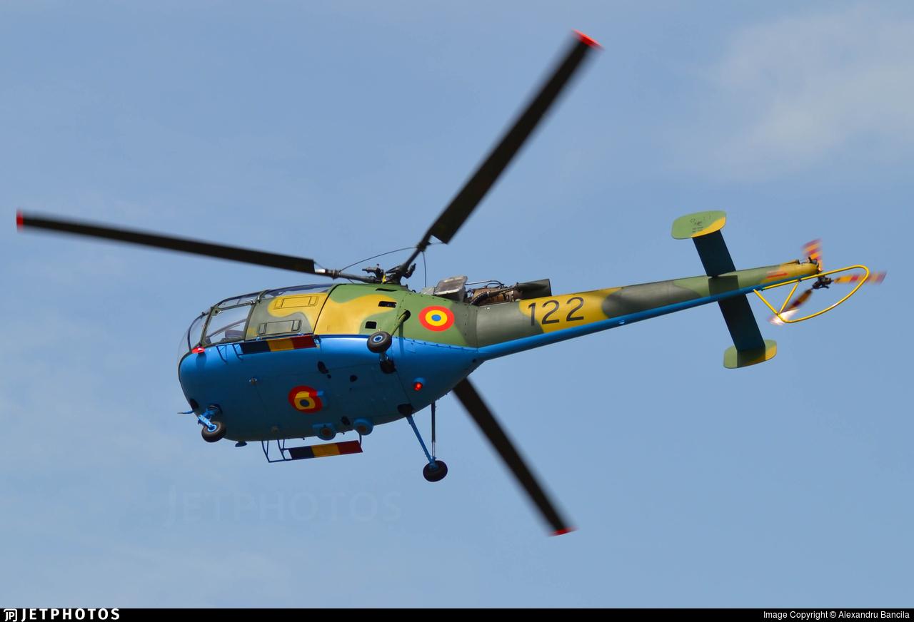 122 - IAR-316B - Romania - Air Force