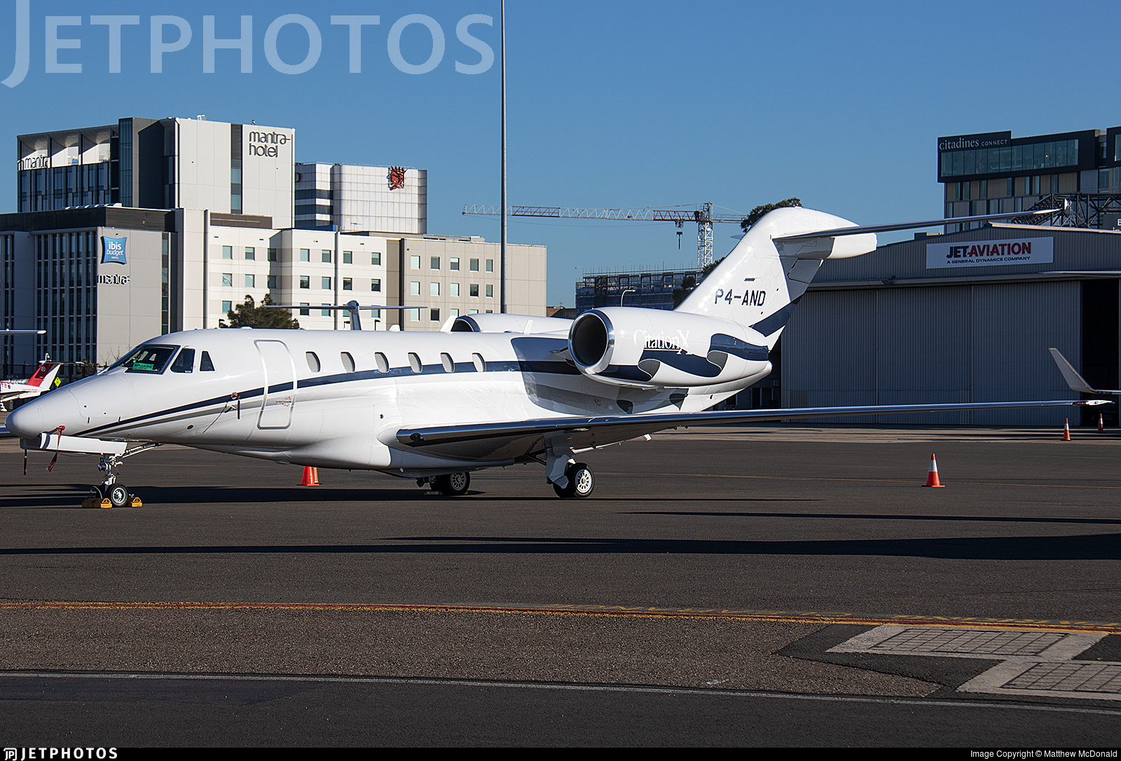 P4-AND - Cessna 750 Citation X - ACM Air Charter