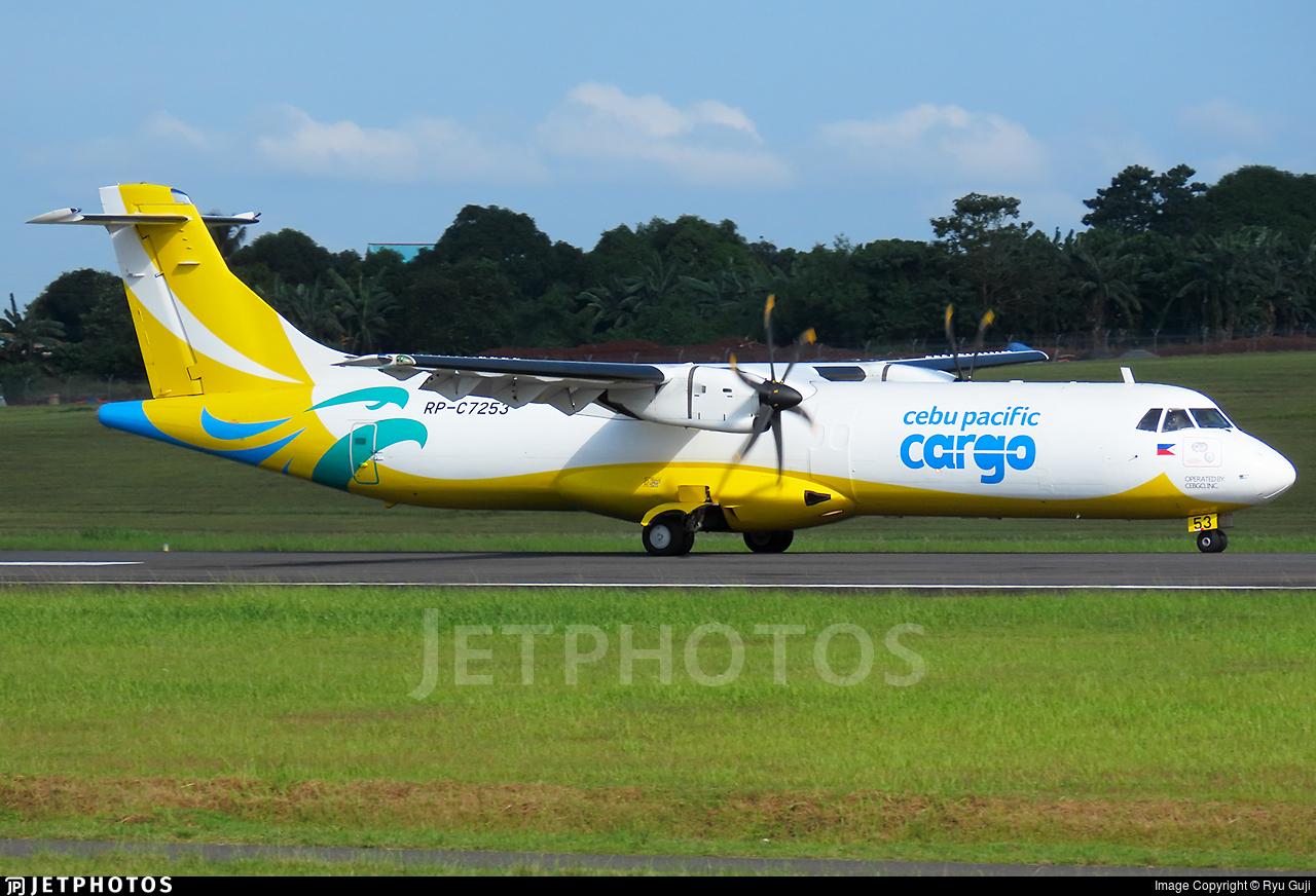 RP-C7253 - ATR 72-212A(500)(F)(LFD) - Cebu Pacific Cargo