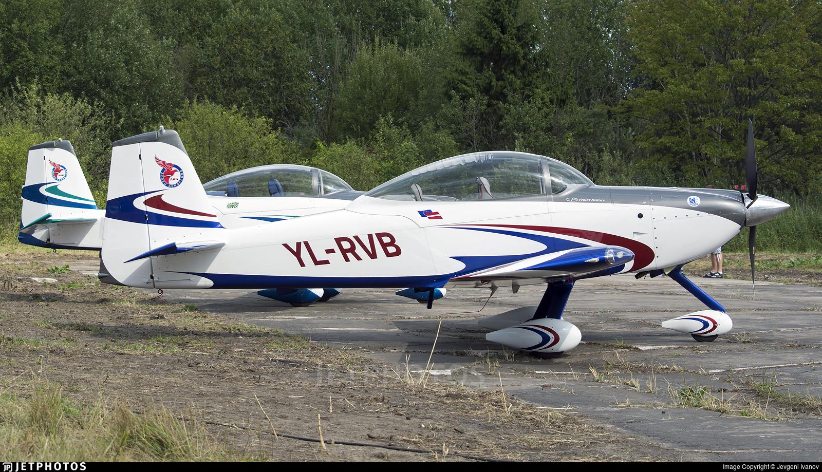 YL-RVB - Vans RV-8A - Private