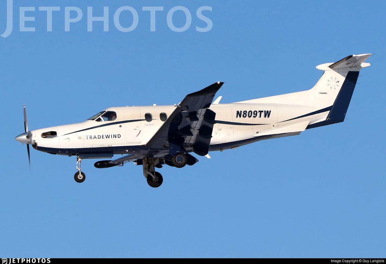N809TW - Pilatus PC-12/47E - Tradewind Aviation