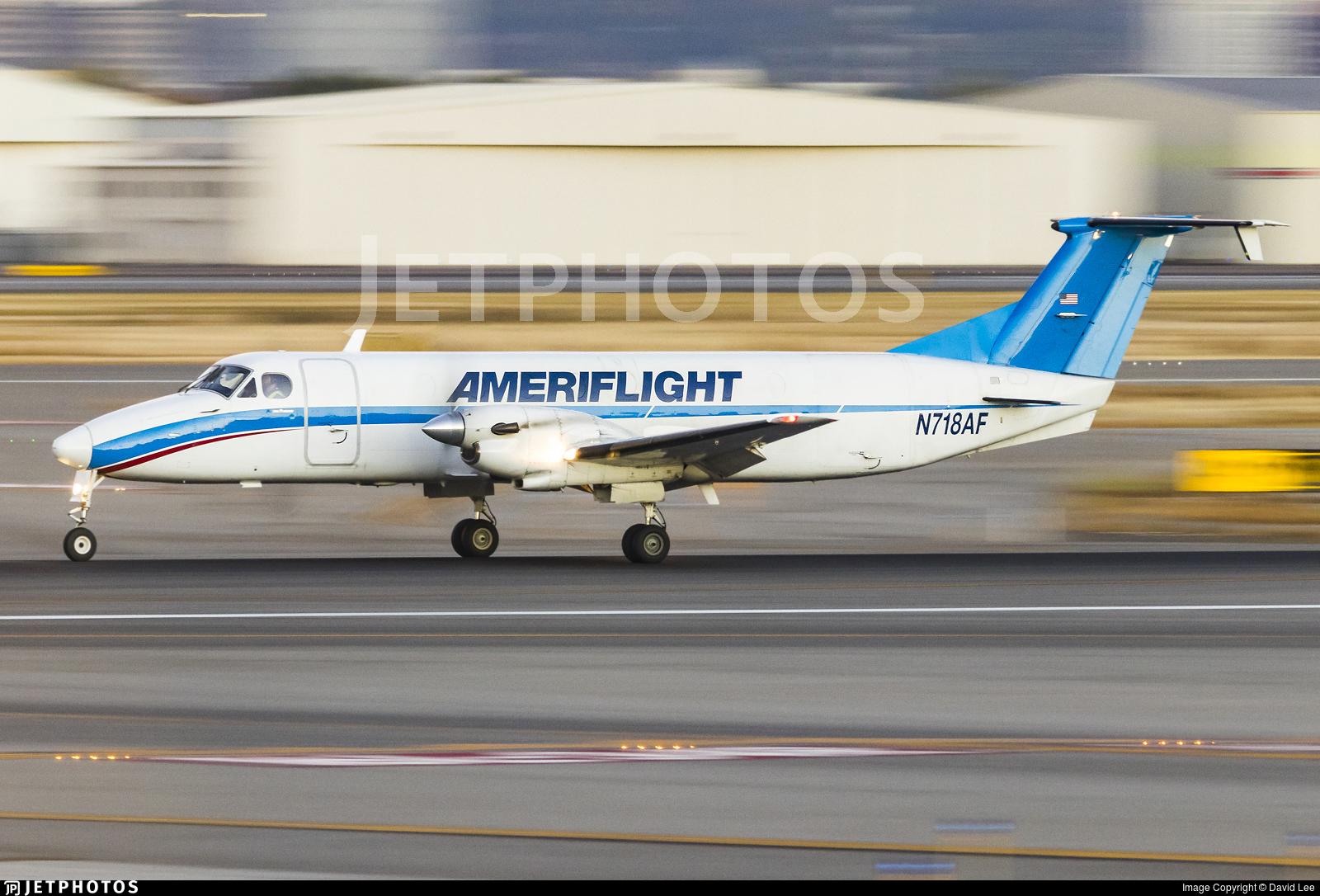 N718AF - Beech 1900C - Ameriflight