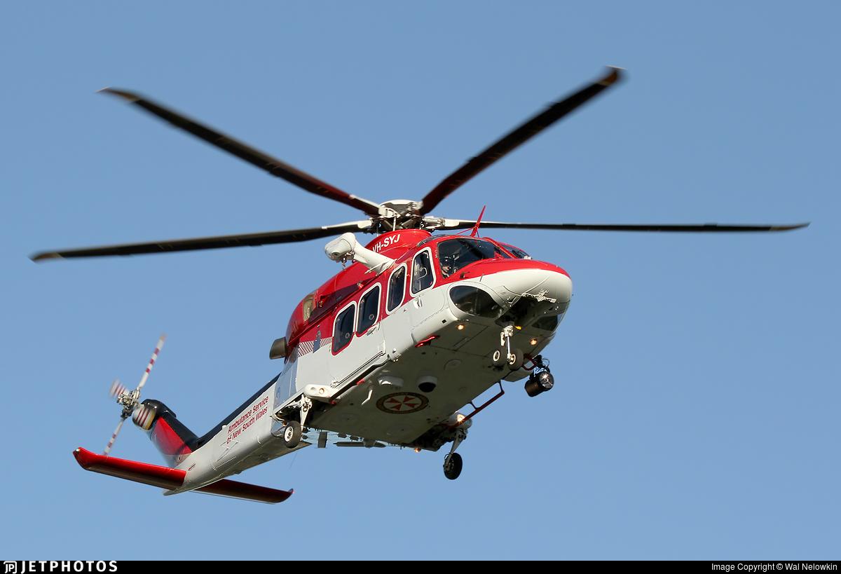 VH-SYJ - Agusta-Westland AW-139 - Ambulance Service of NSW
