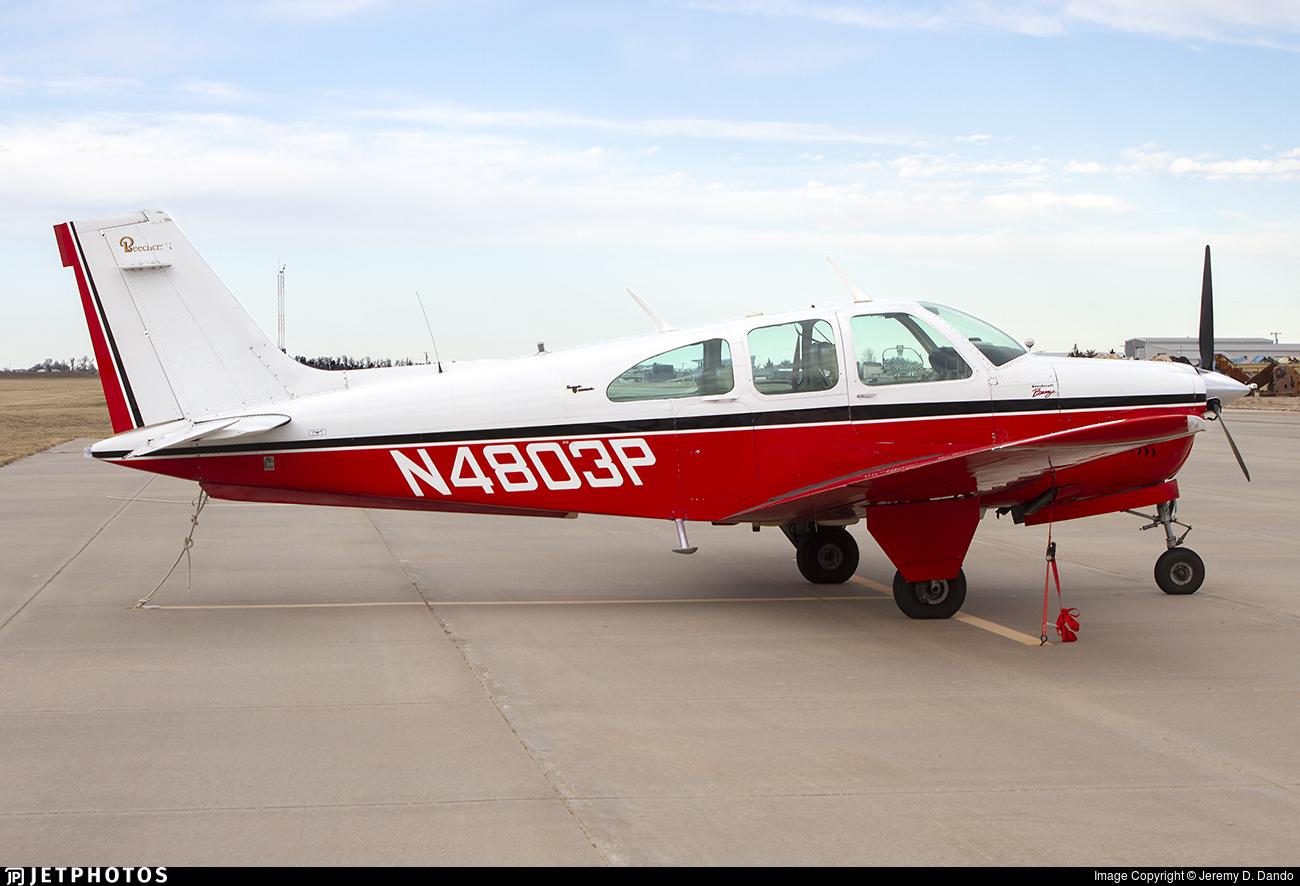 N4803P - Beechcraft 35-C33A Bonanza - Private