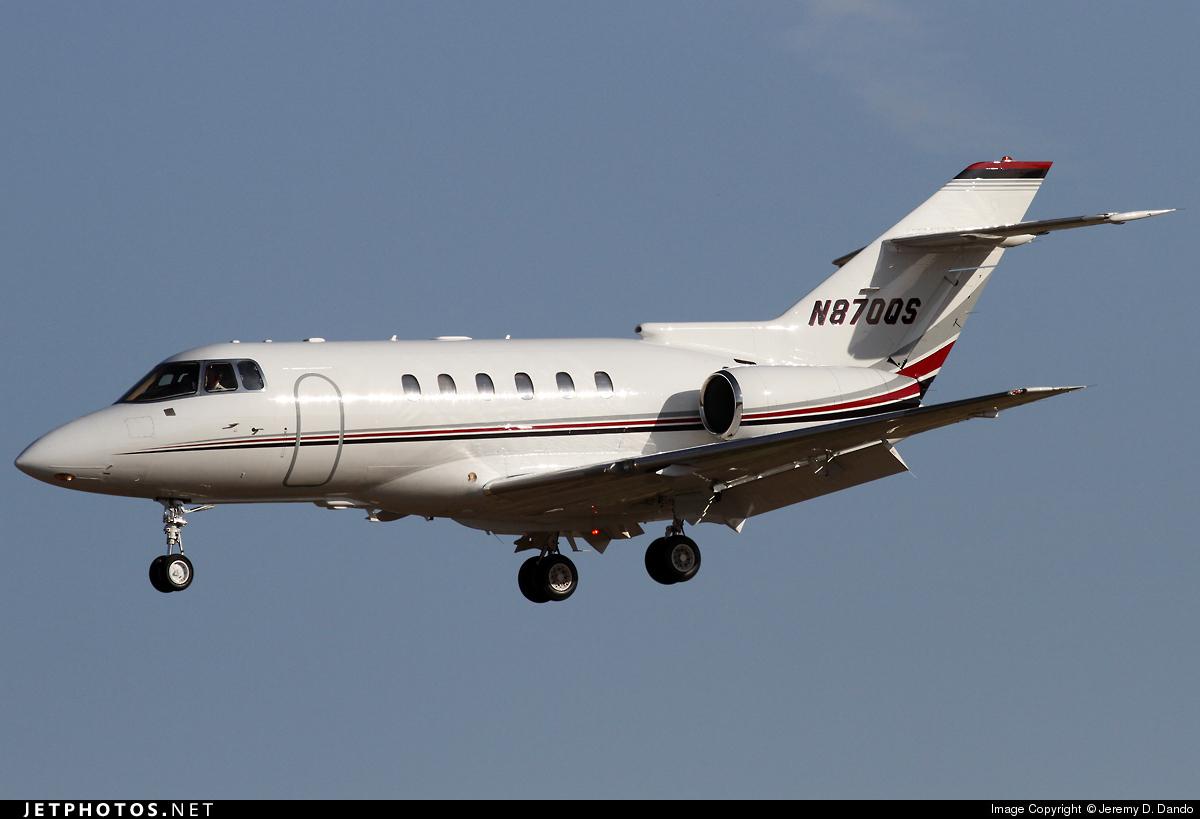 N870QS - Raytheon Hawker 800XP - NetJets Aviation