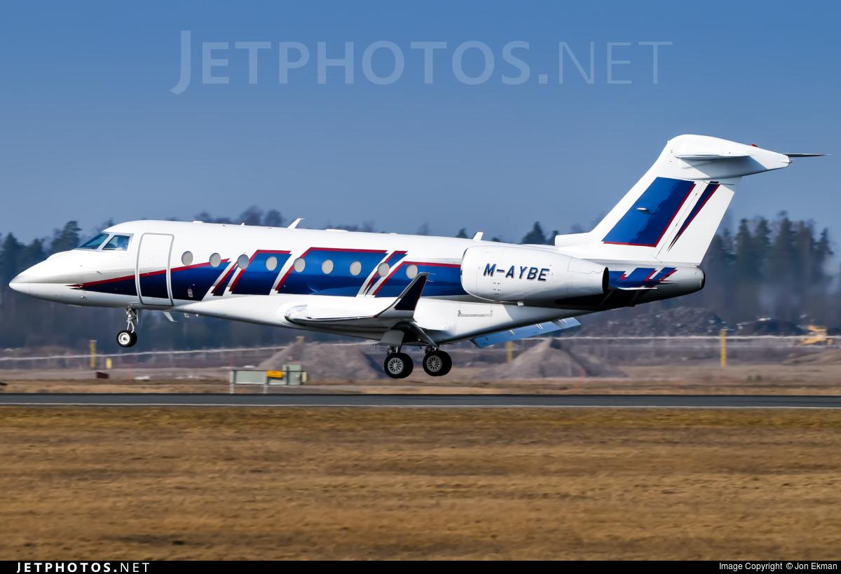 M-AYBE - Gulfstream G280 - Private