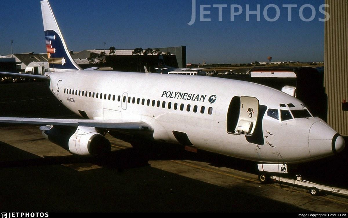 VH-CZM - Boeing 737-277(Adv) - Polynesian Airlines