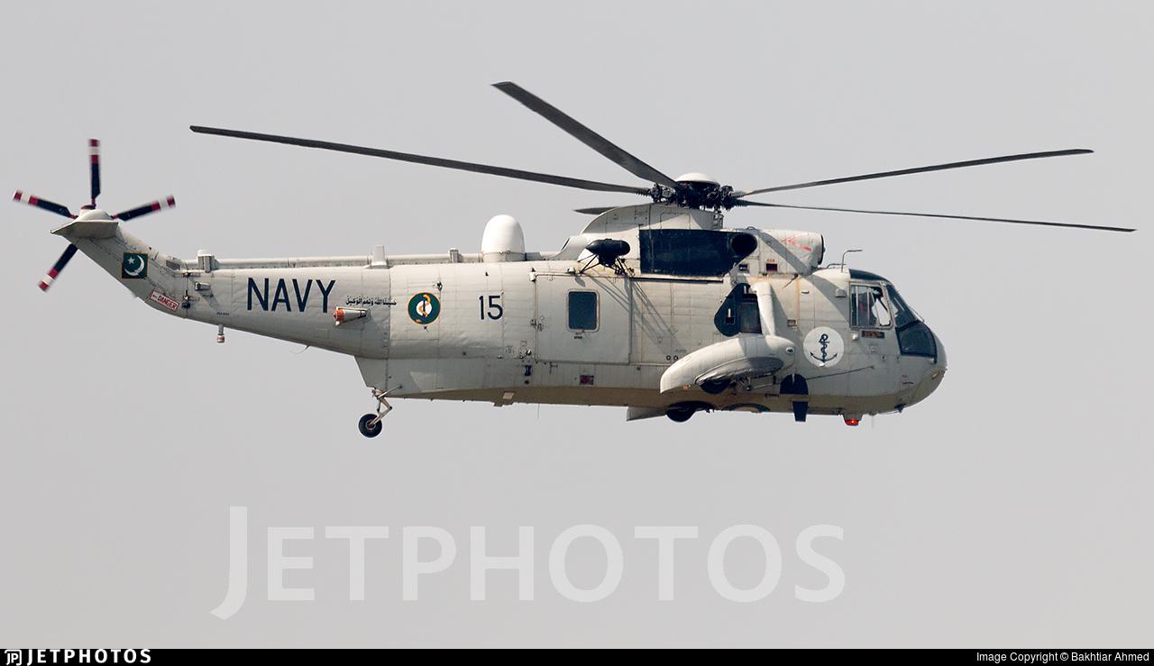 15 - Westland Sea King Mk.45 - Pakistan - Navy
