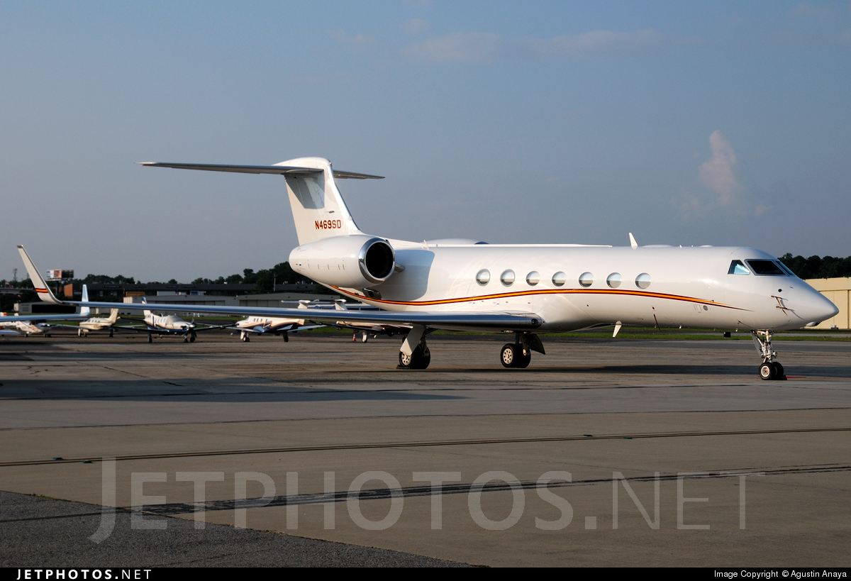 N469SD - Gulfstream G550 - Private