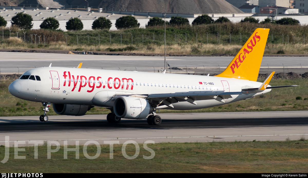 TC-NBD - Airbus A320-251N - Pegasus Airlines