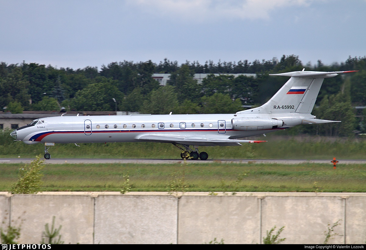 RA-65992 - Tupolev Tu-134AK - Russia - Air Force