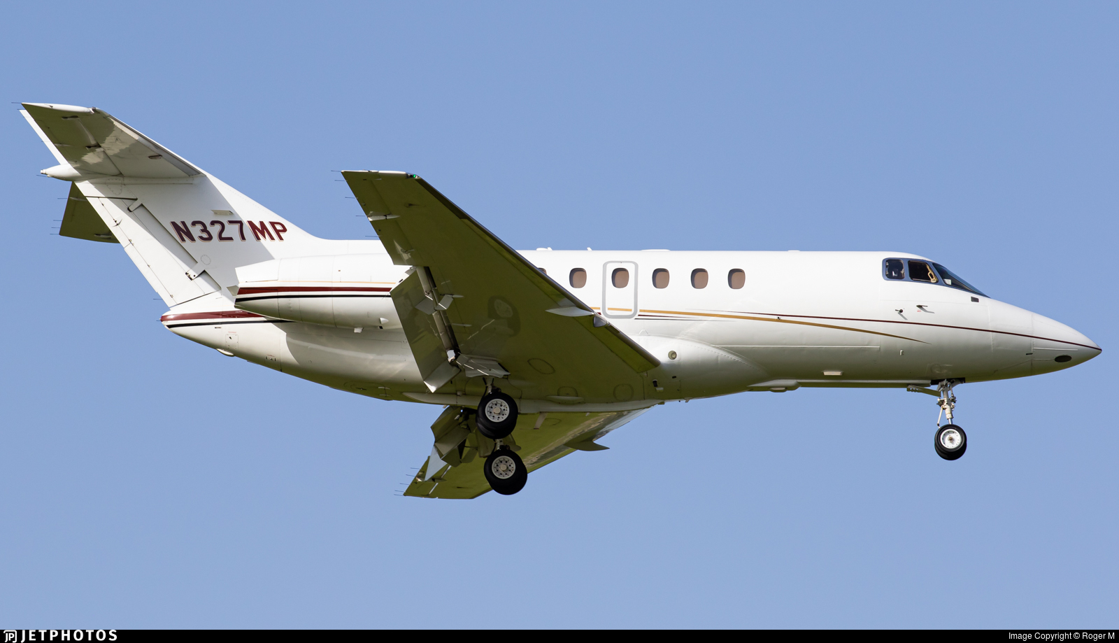 N327MP  - Hawker Beechcraft 750 - Private
